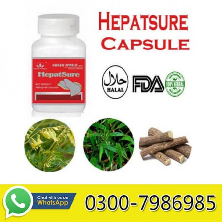 Green World Hepatsure Capsule in Pakistan