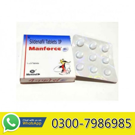 Manforce Tablets in Pakistan