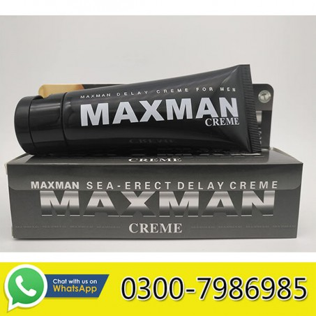 Maxman Delay Cream in Pakistan