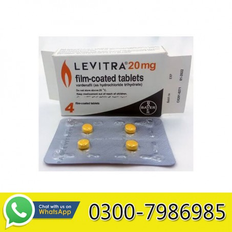 Levitra Tablets in Pakistan
