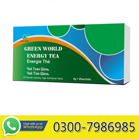 Green World Energy Tea in Pakistan