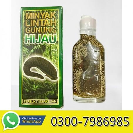 Minyak Lintah Leech Oil Gunung Hijau in Pakistan