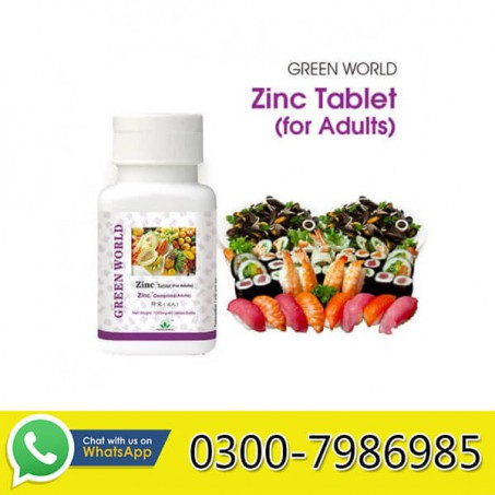 Zinc Tablet For Adults in Pakistan