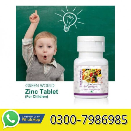 Zinc Tablet For Children in Pakistan