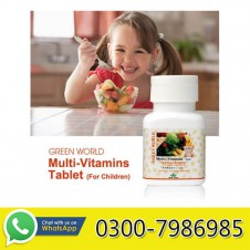 Multivitamins Tablet For Children in Pakistan